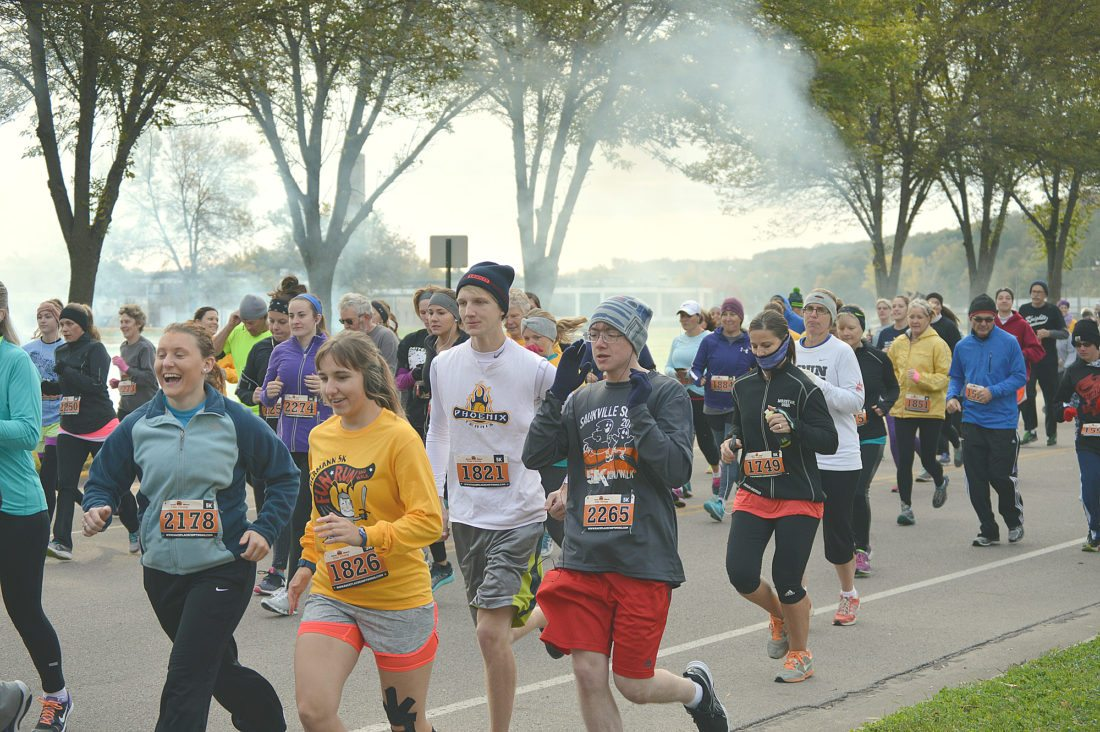 The Hermann 5K walk/run will take place on October 14 and it is one of the Park and Recreation department's more popular events.