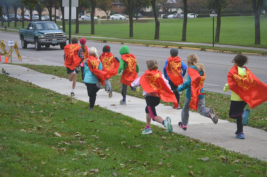 The Hermann Tot Trot is another popular event for those ages 3-9.