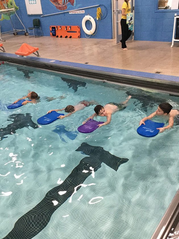 Swimming lessons for participants of all ages will take place this fall.