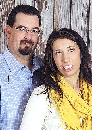 Courtney Ruschmeyer and  Lee Kachelmeier