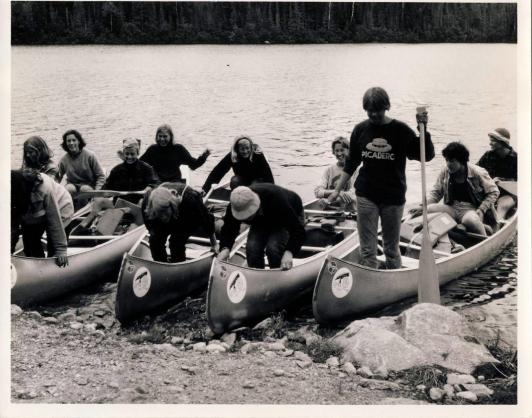 """""""Women Outward Bound"""" includes original footage from the 1965 expedition in the boundary waters. Since it was the first women's program in North America, the girls used the same type of canoes as the boys and proved they were equally capable."""