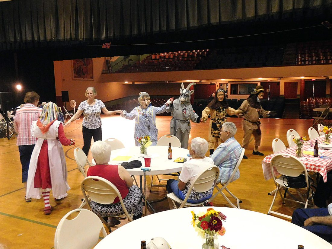 People who have always wanted to dance on the stage got their chance Saturday at the State Street Theater Polka Extravaganza. The Narren volunteered their time to support the fundraiser for the State Street Theater Co. All proceeds for the fundraisers went to benefit the State Street Theater Capital Campaign, which is raising money for utilities work in the building and other capital improvements.