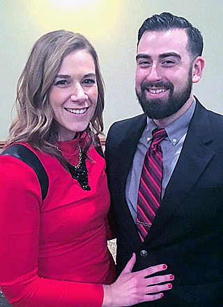 Erin Kober and Eli Biesanz