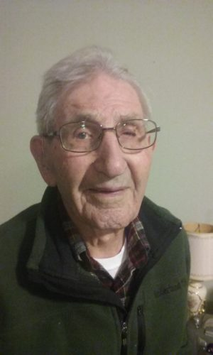 Submitted photo Armon Moll is turning 105 years old today.