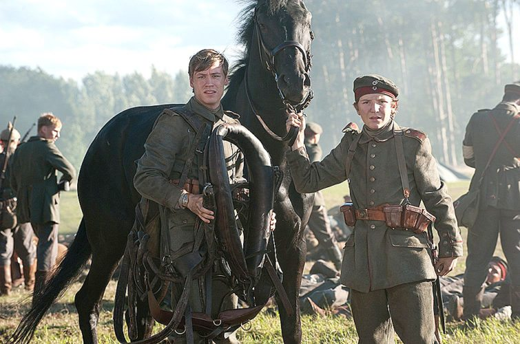 David Kross and Leonard Carow in War Horse (2011). (IMDB.com)