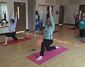 Submitted photo Hatha Yoga class is offered at 4 p.m. on Monday, Wednesday and Thursday.