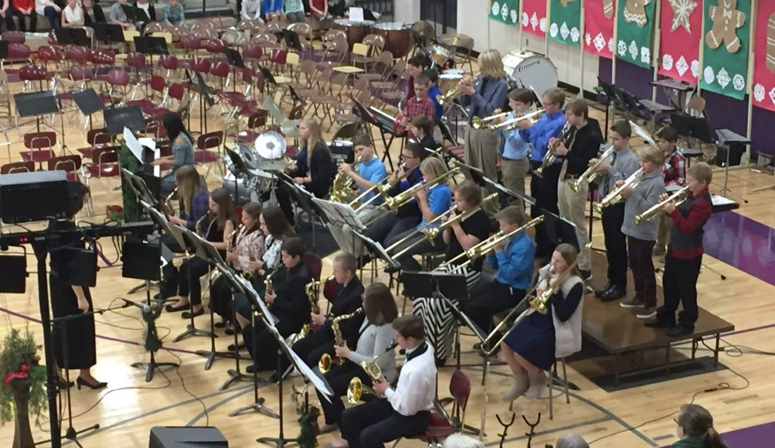 Middle School Band Concert