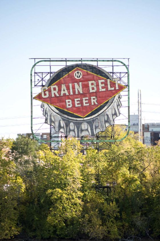 Schell's Brewery is lighting up the iconic Grain Belt beer sign on Nicollet Island in Minneapolis. Schell's, which owns and brews the Grain Belt brand, have been working for years to have the sign relighted. (Photo from grainbelt.com)