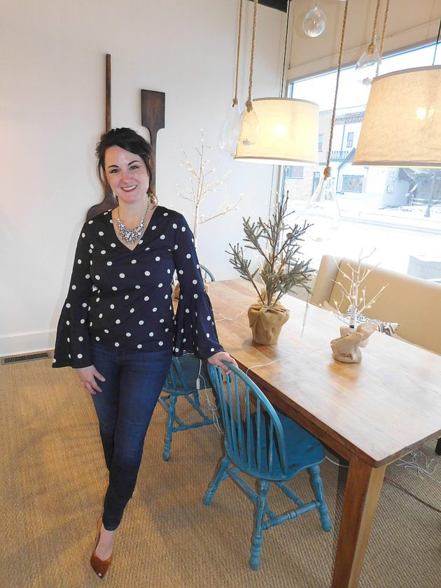 Owner of Route 1 Interiors Kari Linbo has been in operation on Minnesota and First South Street since 2014. Opening the store in New Ulm's historic downtown is a dream come true.