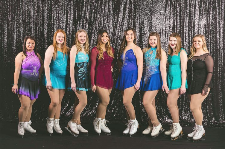 Photos submitted by Blessings Photography, LLC.  Seniors, from left, Aliana Hippert, Crystal Ostermann, Josie Groebner, Elise Webb, Kaiya Gieseke, Amy Harris, Barbrielle Rolloff, and Kjerstin Drugan.
