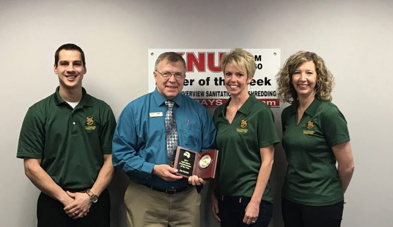 Submitted photo  In the photo are: Ryan Domeier, Rooms & Rest Furniture; Jim Bartels, KNUJ; Tami Leuthold, River Valley Woman; Amy Pearson, Thrivent Financial.