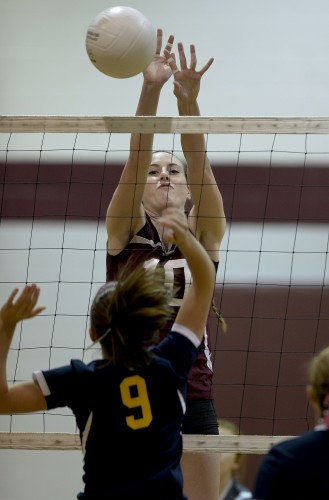 Warren County senior Autumn Troxell, The Northern Virginia Daily's 2014-15 Female Athlete of the Year, ended a stellar career as a three-sport standout for the Wildcats. She'll play volleyball and basketball next season at Randolph College.   Rich Cooley/Daily file