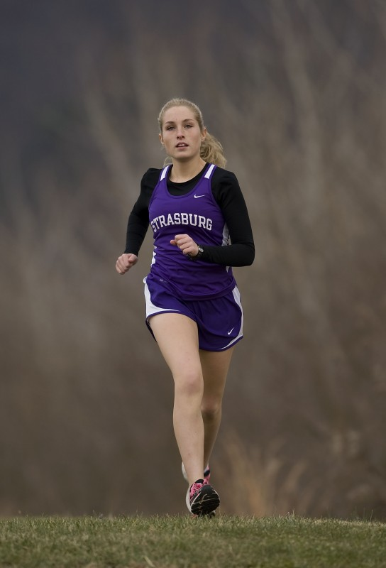 Strasburg High School senior Rachel Tischler, who finished her high school cross country career with an all-state performance at the Group 2A state meet, is the Northern Virginia Daily's 2014 Girls Cross Country Runner of the Year.   Rich Cooley/Daily