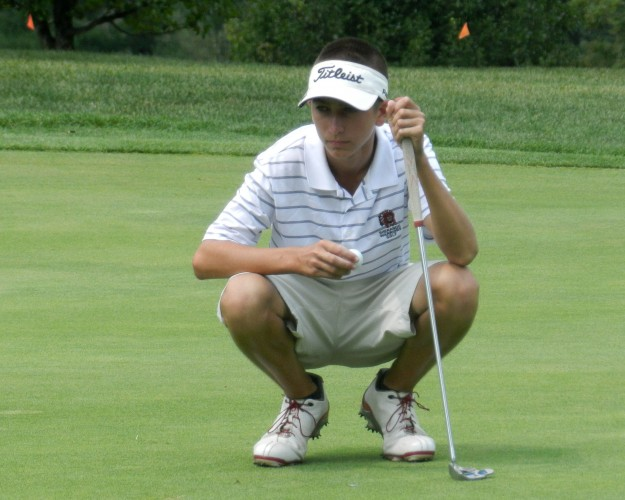 Sherando sophomore Brett Loy, The Northern Virginia Daily's 2014 Golfer of the Year, became the first golfer in school history to win an individual state title this past season.    Brad Fauber/Daily file