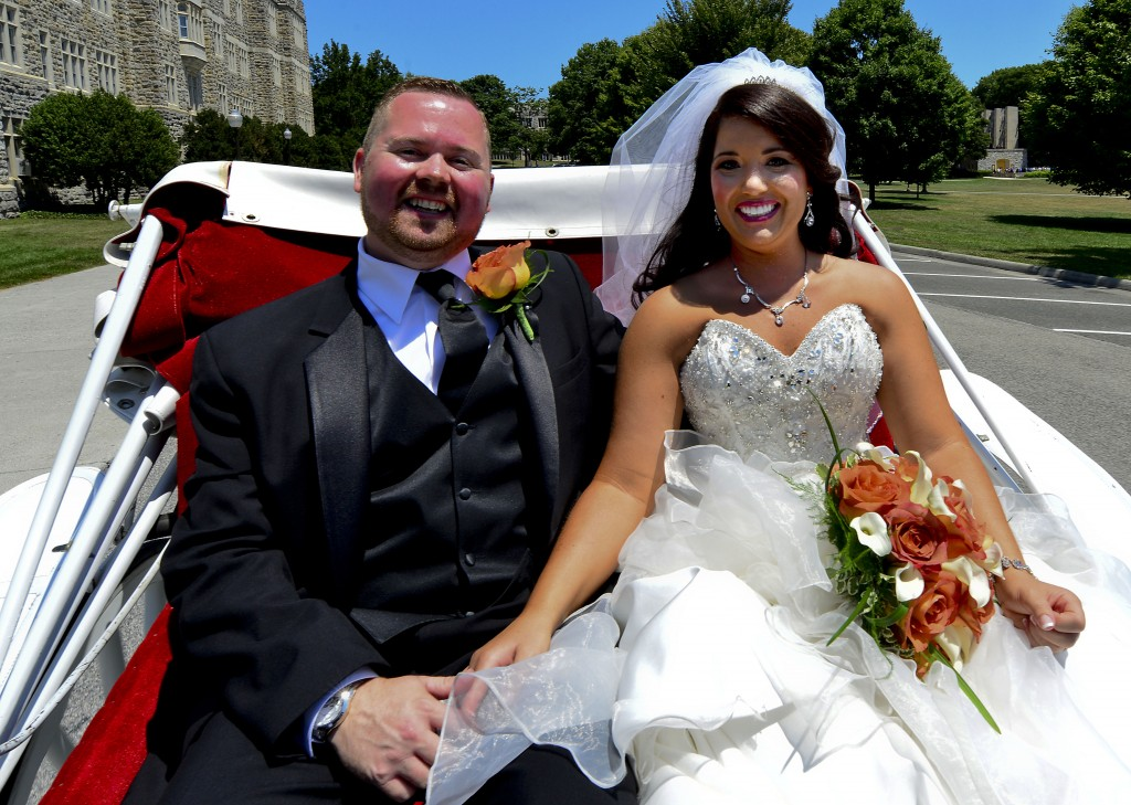 Jaclyn Marie Roller and Ken Phil-Patrick Ryan were married July 26 at War Memorial Chapel on the campus of Virginia Tech.   Courtesy photo
