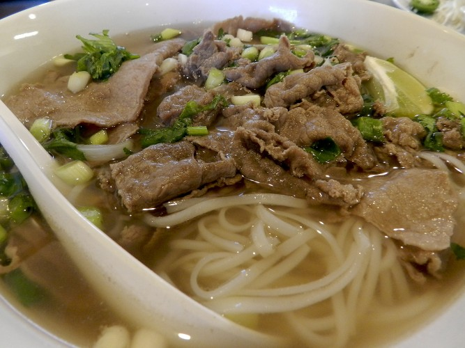 Vietnamese pho at CTE Restaurant in Winchester. Ryan Cornell/Daily