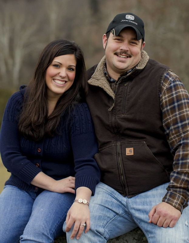 Ashley Foster and Derick Frye