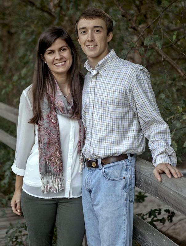 Courtney Stephens and Stephen Stubley