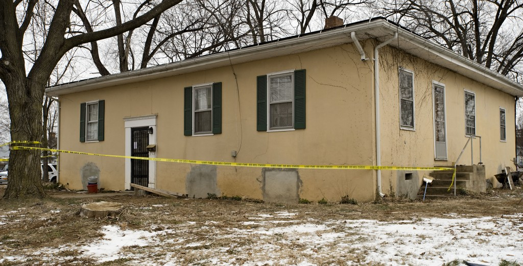 This home at 591 Warren Ave. in Front Royal was condemned Sunday after a floor collapsed.  Rich Cooley/Daily