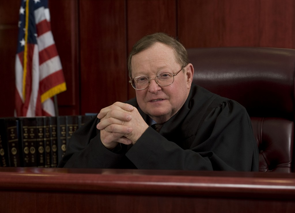 Judge William H. Logan Jr. is retiring April 1 as judge of the Shenandoah County Juvenile and Domestic Relations Court.  Rich Cooley/Daily