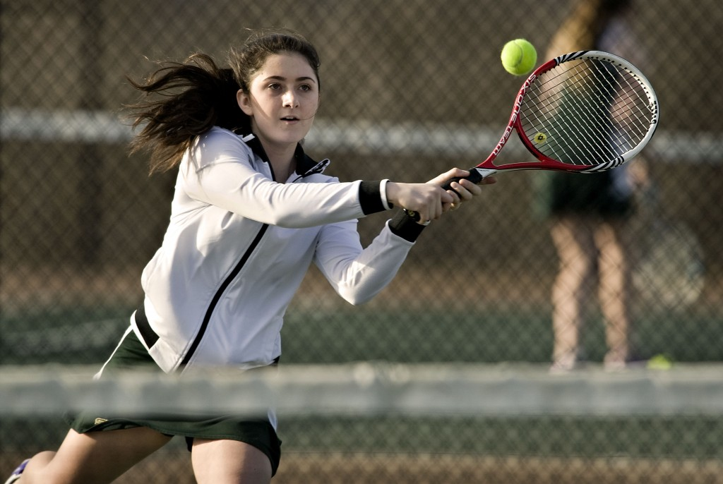 Skyline's Kaylee Venable is ready to build off a solid freshman season, when she played at No. 1 singles for the Hawks.   Rich Cooley/Daily