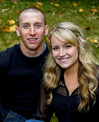 Blake Luther and Taylor Frazier plan an October wedding.
