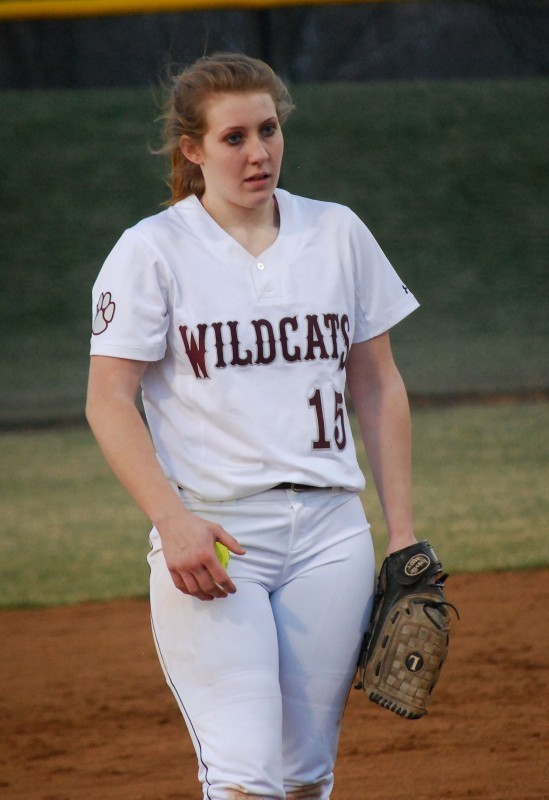 Warren County's Paige McLachlan will fill an even more important role for the Wildcats' softball team this season after going 10-10 with a 2.39 ERA and 129 strikeouts on the mound while leading the team in batting in 2014.   Photo courtesy of Troy King