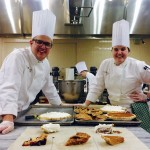 Cody Fitchett and classmate Camille Unruh baked some delicious pies in class at the Culinary Institute of America in Hyde Park, N.Y. Courtesy photo