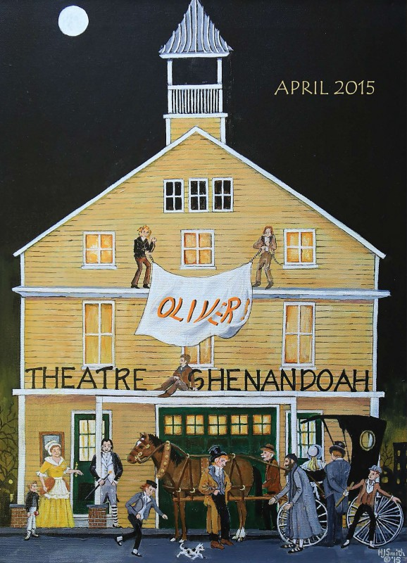 Theatre Shenandoah's new commemorative poster was  designed and painted by local artist Helen Jean Smith.  Courtesy photo