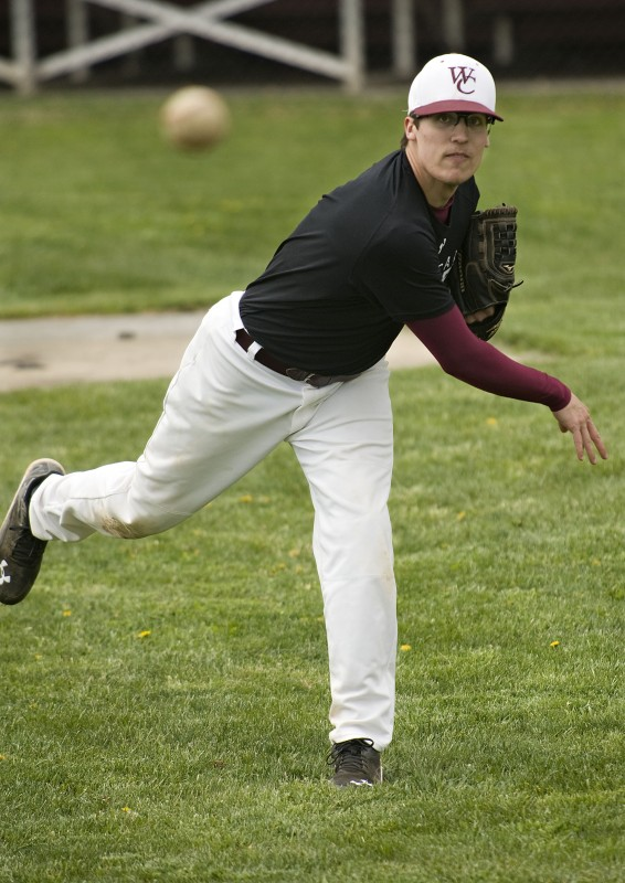 Warren County senior right-hander John Reith has resumed his role as the Wildcats' top pitcher this season.   Rich Cooley/Daily