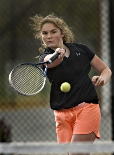 Warren County's Jayme Goode led the Wildcats to regionals this season. She also advanced individually in both singles and doubles. Rich Cooley/Daily