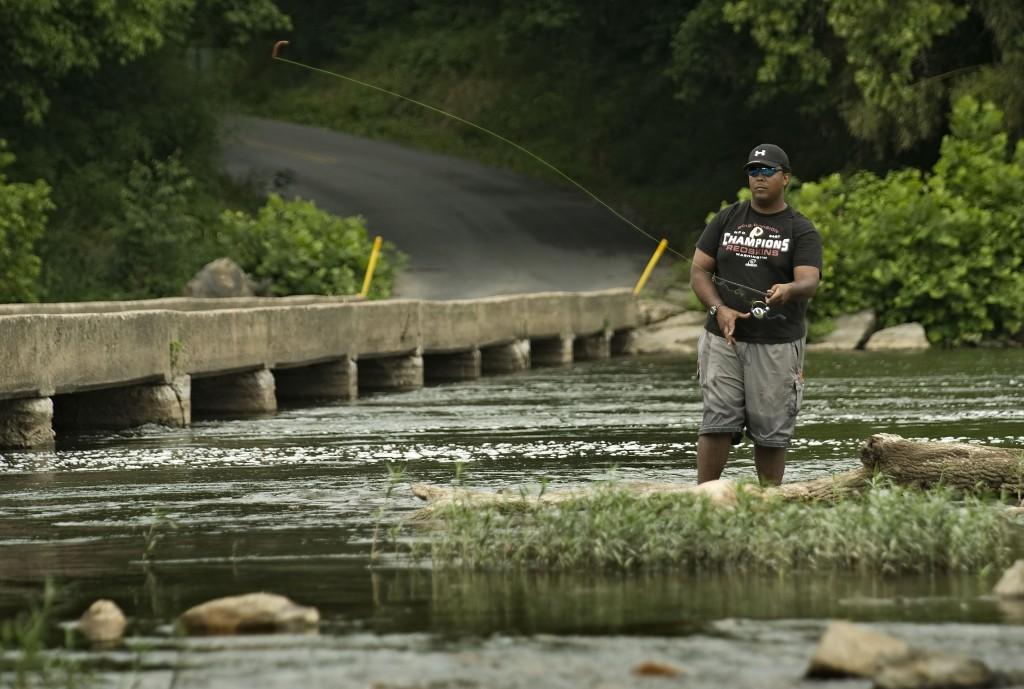 A Fine Fishing Spot News Sports Jobs The Northern