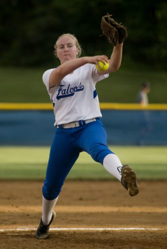 Central pitcher Bekah Ansbro, The Northern Virginia Daily's 2015 Softball Player of the Year, finished her junior season with an 18-4 record, a 0.53 ERA and 263 strikeouts.   Rich Cooley/Daily