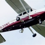 In this photo taken May 26, a small plane flies near Manassas Regional Airport in Manassas. The plane is among a fleet of surveillance aircraft by the FBI that are primarily used to target suspects under federal investigation. Such planes are capable of taking video of the ground, and some -- in rare occasions -- can sweep up certain identifying cellphone data. AP