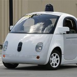 Google's new self-driving prototype car drives around a parking lot during a demonstration at Google campus on May 13,  in Mountain View, Calif. The car may be soon spotted on Interstate 66 and other Northern Virginia Highways.   AP