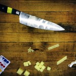 The first week of Cafe Savory involved learning how to dice with a knife. Courtesy photo