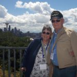 Mike and Cathie McDermott took a National Park tour out of Seattle as part of their 42-day trip across the country by train. Photo courtesy of Main Street Travel.
