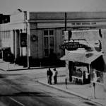 Virginia Restaurant along with First National Bank and the Western Auto, right, are shown in this old photo of Strasburg at the corner of Holliday and King streets. Photo Courtesy of Strasburg Museum