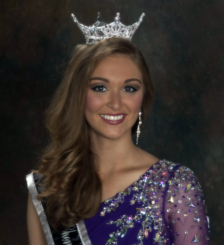 Taylor Childs was crowned Shenandoah County Fair queen last year. Courtesy photo by Denise Jane Portrait Design