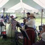 The Shenandoah Minstrels perform during the Fisher's Hill Civil War Battlefield Picnic on Saturday. Photo by Dale Ann Deffer