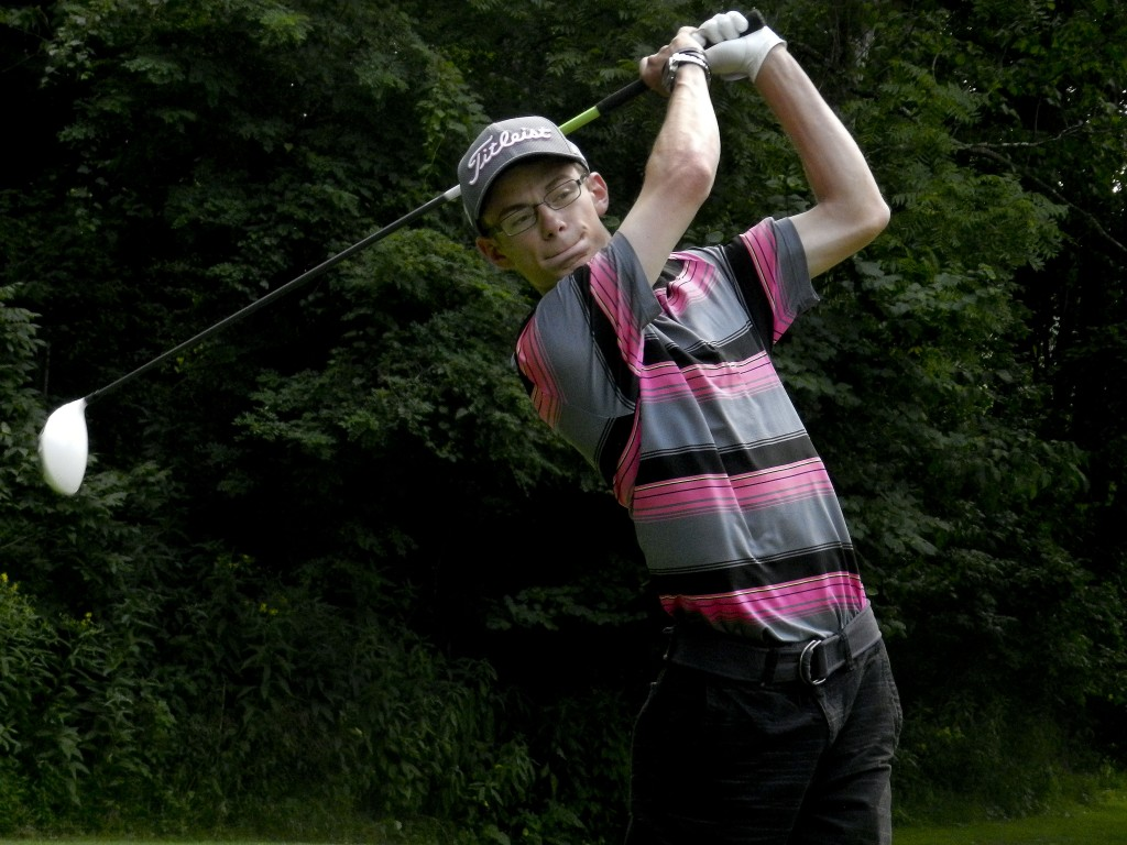 Central senior Joseph Plauger returns to lead the Falcons' golf team this season after qualifying for the Group 3A state tournament last fall.   Brad Fauber/Daily