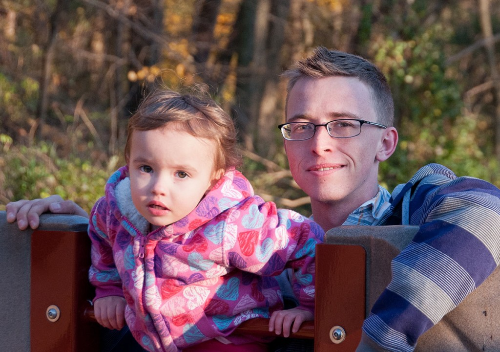 Alex Crettier is shown here with his daughter Melina. Photo courtesy of Nick Crettier
