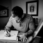 Artist Jake Weidmann of Denver, Colorado, is one of 12 living Master Penmen in the world. Courtesy photo by Steve Stanton