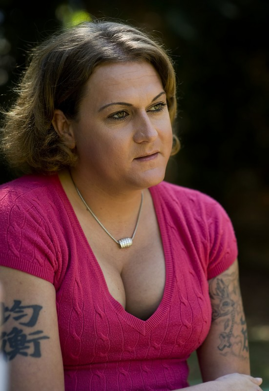 Kendra Brill of Strasburg struggled with her transgender identity and legal issues during a stay at the Rappahannock-Shenandoah-Warren Regional Jail.   Rich Cooley/Daily