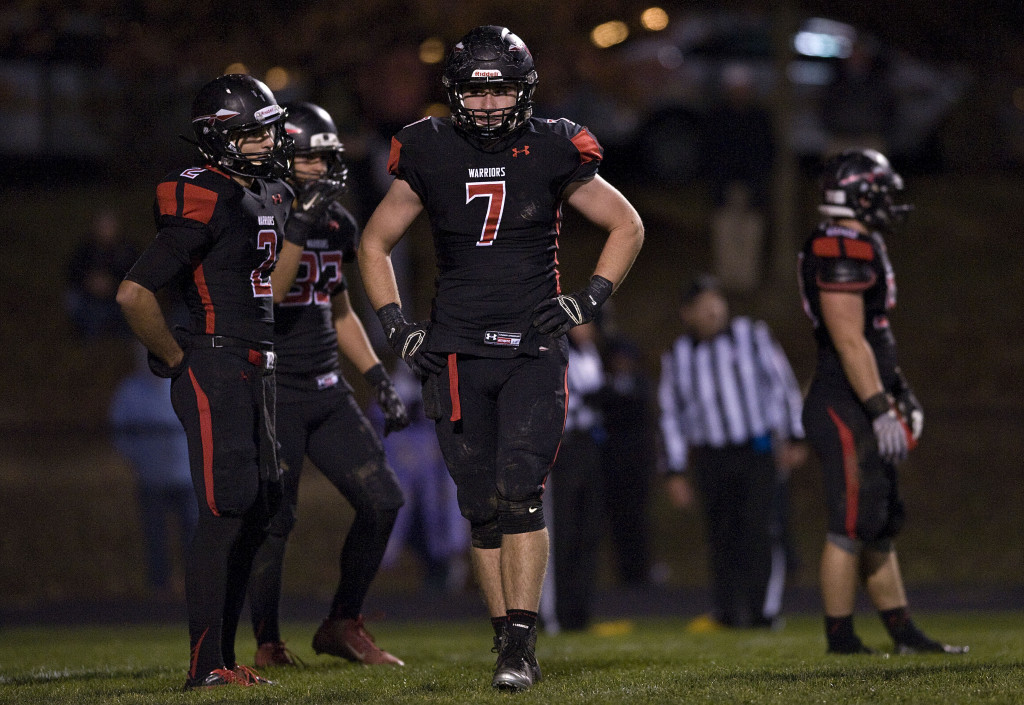 Sherando junior linebacker Dylan Rivers verbally committed to play football at Penn State in November. The junior had 14 Division I offers.  Rich Cooley/Daily file