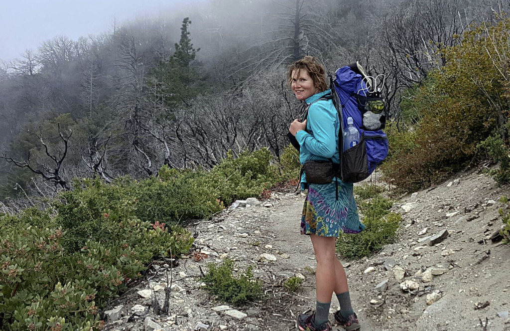 Amy Hepner, a 2000 graduate of Central High School, completed a six-month hike of the Pacific Crest Trail in October.  Photo courtesy of Amy Hepner