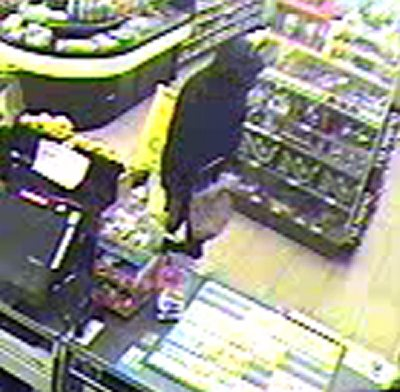 This is one of the suspects wanted in the early Friday morning robbery of the 7-11 store on John Marshall Highway in Linden.