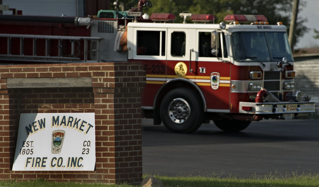 Shenandoah County has removed their career personnel from New Market Fire and Rescue and repositioned them to Mt. Jackson Rescue and Fire.   Rich Cooley/Daily file
