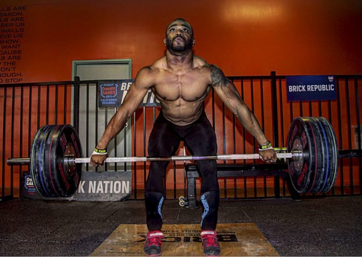 Derrick Johnson, a five-time national weightlifting champion, will be in Front Royal on Saturday at Convergent Crossfit for a seminar hosted by Performance Sport and Spine. The event begins at 9 a.m. Courtesy art/Commonwealth Public Relations