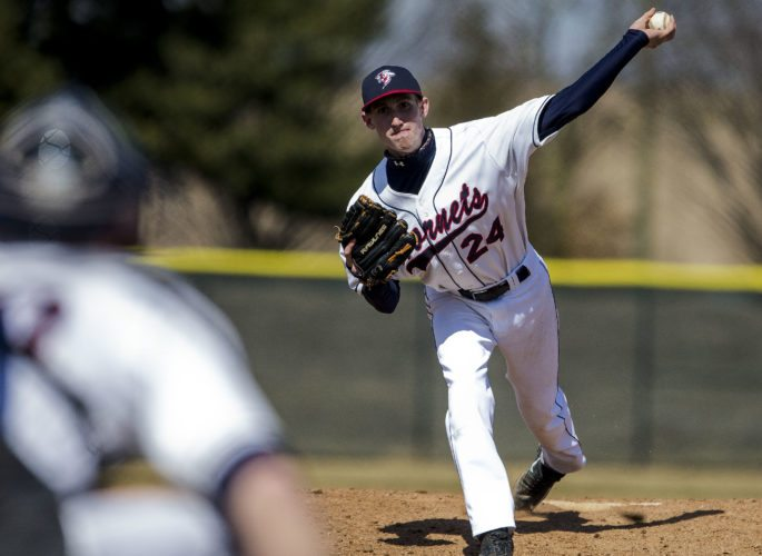 Shenandoah University's Darrell Thompson returns as part of an experienced pitching staff hoping to lead the Hornets to another ODAC championship in 2016.    Photo courtesy of Shenandoah University